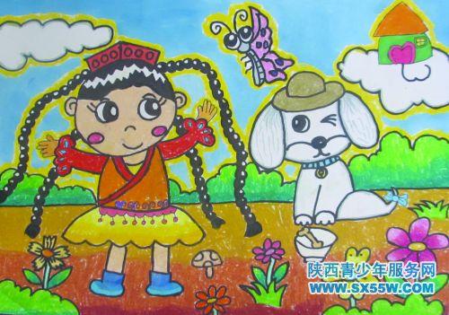 和谐美好儿童画 图片合集图片