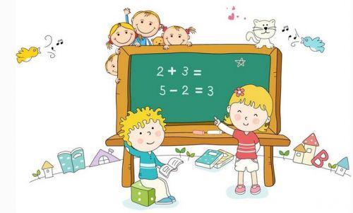 幼儿园数学主题墙边框设计图片